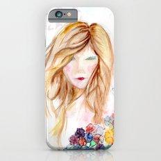 lady in bloom  Slim Case iPhone 6s