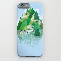 iPhone & iPod Case featuring Mysterious Island by WanderingBert / David Creighton-Pester