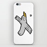 003_bird iPhone & iPod Skin