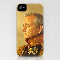 iPhone 4s & iPhone 4 Cases featuring Bill Murray - replaceface by replaceface