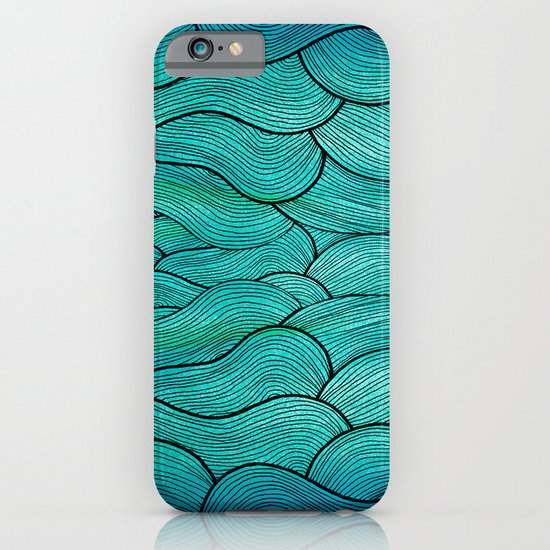Sea Waves iPhone & iPod Case