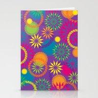 Spikeyflower Purple Stationery Cards