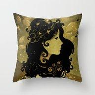 Spring Rain - By Viviana… Throw Pillow