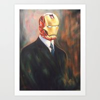 Iron Monsieur Art Print