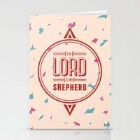Psalm 23:1 Stationery Cards