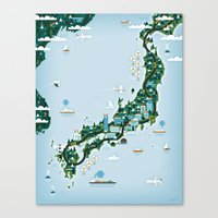 GOOD TOYS JAPAN Canvas Print