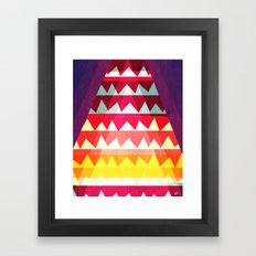 Fire on the Mountain Framed Art Print