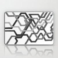 Black and White Metro Laptop & iPad Skin