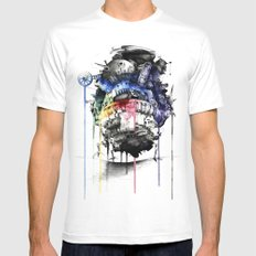 Howl's Moving Castle Mens Fitted Tee White SMALL