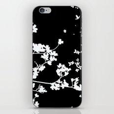 Black Dogwood iPhone & iPod Skin