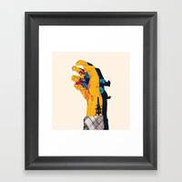 I HAVE THE POWER Framed Art Print