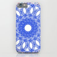 iPhone & iPod Case featuring REDBLUE Mosaic by KARAM