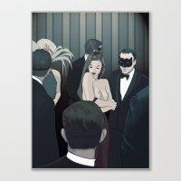THE CENTERPIECE Canvas Print