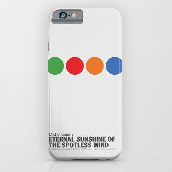 Eternal Sunshine of a Spotless Mind   Minimalist Movie Poster iPhone & iPod Case