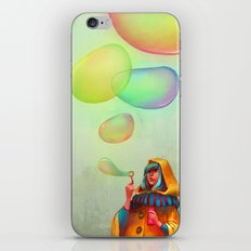 Bubbles of Color iPhone & iPod Skin