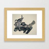 the bandolier of broken dreams Framed Art Print