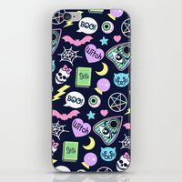 Spooky Babe iPhone & iPod Skin