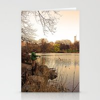 Central Fishing Stationery Cards