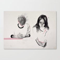 I Can't Put This in Words Canvas Print
