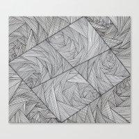 2829 Lines Canvas Print