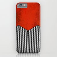 "iPhone Cases featuring Twin peaks ""David Lynch"" by Thomas Jarry"