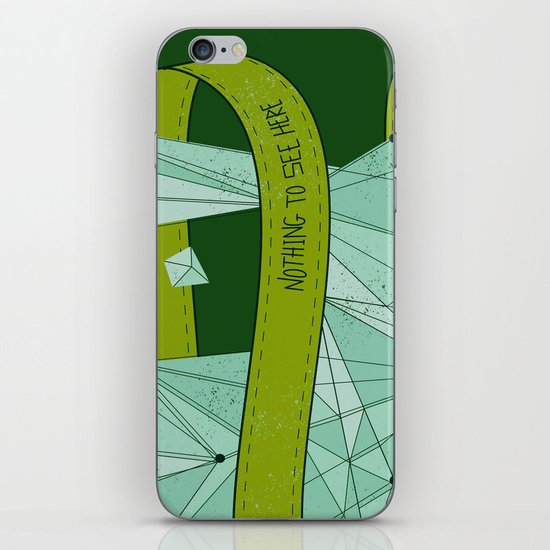 Nothing To See Here (G). iPhone & iPod Skin