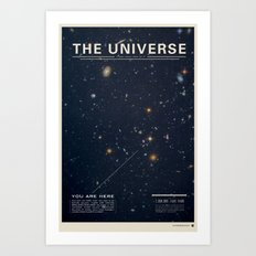 THE UNIVERSE - Space | T… Art Print
