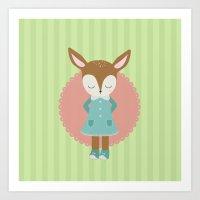deery Art Print