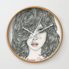Snow White ♡ Wall Clock