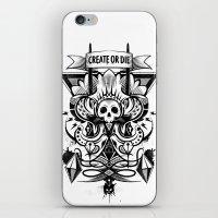 Create or Die iPhone & iPod Skin