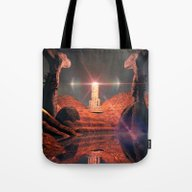 Mystical Fantasy World Tote Bag