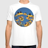Reach For The Sky Mens Fitted Tee White SMALL