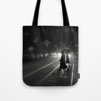 Streets Of Kolkata Tote Bag