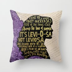 Hermione - Character Pillow Throw Pillow