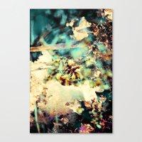 flowers & Ice. Canvas Print