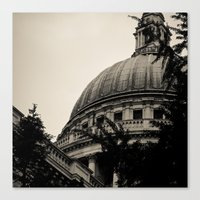St Paul's Cathedral. Canvas Print