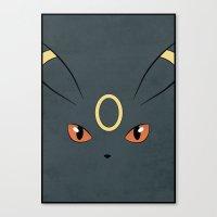 #197 Umbreon. Pokemon Po… Canvas Print