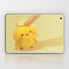 Scritch, a little yellow bird Laptop & iPad Skin