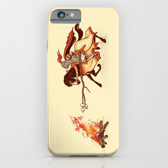 Marshmallow Joust iPhone & iPod Case