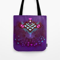 ::Space Bird:: Tote Bag