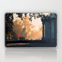 Fall Morning At Green La… Laptop & iPad Skin