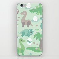 Baby Dinosaurs iPhone & iPod Skin