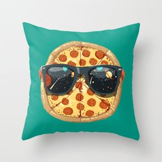 Cool Pizza Throw Pillow