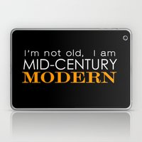 Middle Age Is The New Bl… Laptop & iPad Skin
