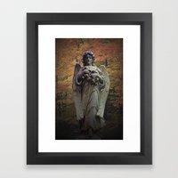 WallaAngel1 Framed Art Print