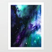 Astro Nebula Art Print