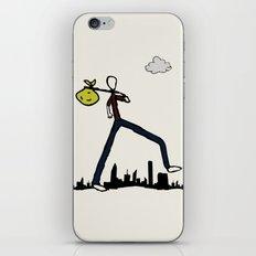 Run-Away iPhone & iPod Skin
