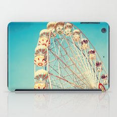 All Die Young, Ferris Wheel on Blue Sky iPad Case
