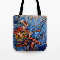 THE GUITARIST Tote Bag