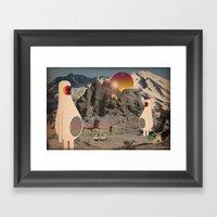 Astro_buchi Framed Art Print